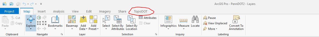 TopoDOT | ArcMap Pro DPEG Viewer Addon